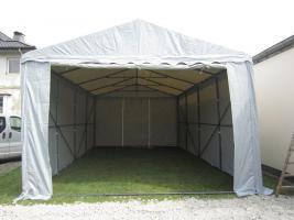 Foto 2 Lagerzelt mobiler Unterstand 6x12 m stabil und wasserdicht