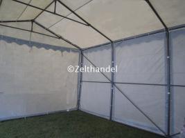 Foto 3 Lagerzelt mobiler Unterstand 6x12 m stabil und wasserdicht