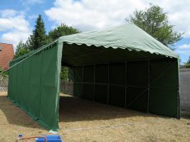 Foto 4 Lagerzelt mobiler Unterstand 6x12 m stabil und wasserdicht