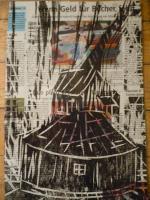 Laminierter Holzdruck vom Künstler