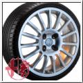 Lancia Musa 6 x 14 rondell Alufelgen 0026 silber NEU