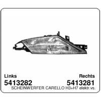 Lancia Ypsilon Scheinwerfer Carello H3+H7 elektrisch verstellbar rechts