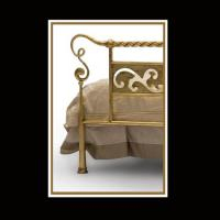 Iron Bed Detail