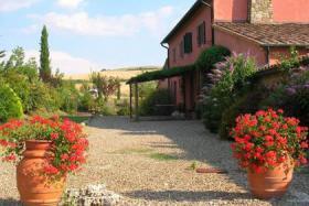 Landhaus in Val d'Orcia mit privaten Pool