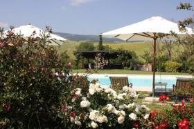 Foto 4 Landhaus in Val d'Orcia mit privaten Pool