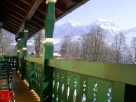 Blick vom Balkon Landhaus Waldlhauser