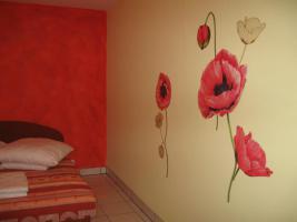 Schlafzimmer Mohnblume