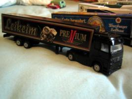 Foto 2 Lastwagensammlung mit 11 Lastwagen Biertransporter