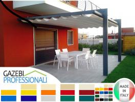 Foto 3 Laube Dach Terrasse Personalisiert Neu Gartenzelt Pavillon 3x5