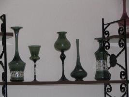 Lauschaer Glas (mundgeblasen) 5-teilig