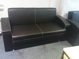 Foto 2 Leder Couchgarnitur 3+2+1 nur 550, -