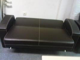 Foto 5 Leder Couchgarnitur 3+2+1 nur 550, -