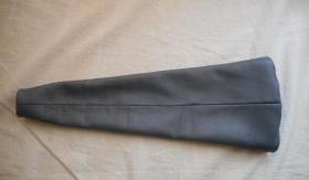 Foto 6 Ledermanschette Handbremshebel Smart Fortwo 450 451 Leder schwarz