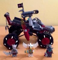 Foto 4 Lego Chima Set 70004 Wakz' Wolfstracker / 16€ VERSANDKOSTENFREI!
