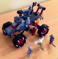 Foto 5 Lego Chima Set 70004 Wakz' Wolfstracker / 16€ VERSANDKOSTENFREI!
