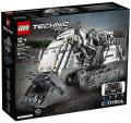 Lego Technic 42100 Liebherr Bagger mit Full LEDs-18x Batterien,BA,Karton