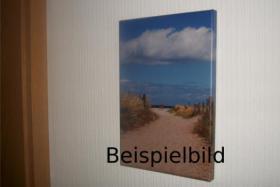 Foto 4 Leinwand Foto Himmel 60x40 cm Wolken Azur Weiß Blau