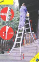 Foto 2 Leitern u. Gerüste (Stehleiter-Anlegeleiter-Standleiter-Sprossenleiter