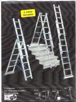 Foto 6 Leitern u. Gerüste (Stehleiter-Anlegeleiter-Standleiter-Sprossenleiter