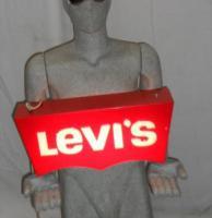 Levi's Leucht-Reklameschild