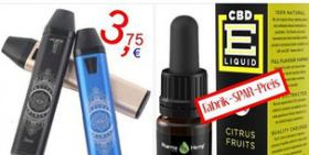 Lisheng C3-2 Mini Vape Pen Kit 4€ CBD Liquid E-CIG