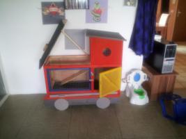 Lokomotive für klein Tiere