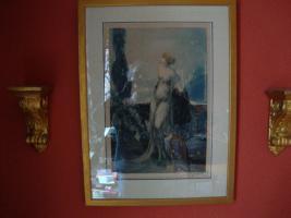 Foto 2 Louis Icart Radierung ''Werther'' Art Deco