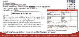 Foto 2 Luteolin vegetarische-Kapseln 90Stk. 200mg pro Kapsel