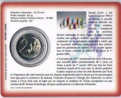 Foto 2 Luxemburg 2 Euro Gedenkmünze '' 10 Jahre Euro - Bargeld 2012 ''  ! !