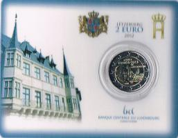 Luxemburg 2 Euro Gedenkmünze '' 2012 ''
