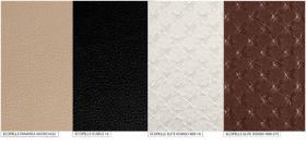 Foto 5 Luxus Bett-Gruppe 160x200 Matrix Modern Stilmöbel Italien Nussbaum