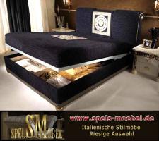 Foto 2 Luxus Möbel Bett Doppelbett 160x200 Schlafzimmer Royale Moonlight Italienische Klassische Stilmöbel