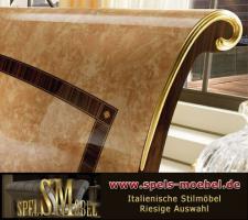 Foto 2 Luxus Möbel Bett Doppelbett Nachtkonsole Schlafzimmer Rossini Italienische Klassische Stilmöbel