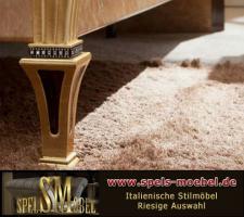 Foto 3 Luxus Möbel Bett Doppelbett Nachtkonsole Schlafzimmer Rossini Italienische Klassische Stilmöbel