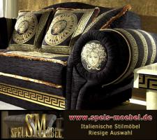 Foto 2 Luxus Möbel Sofa Sessel Polstermöbel Wohnzimmer Royale Moonlight Italienische Klassische Stilmöbel
