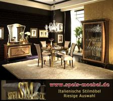 Luxus m bel wohnzimmer rossini italienische klassische for Wohnzimmer kompletteinrichtung