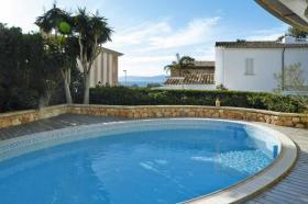 Foto 2 MALLORCA Llucmajor Ferienhaus mit Pool und Meerblick