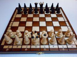 MAZO statt Schach - ein neues Brettspiel einfacher als Schach und interessanter als Dame