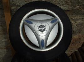 Foto 2 M&S Reifen auf Stahlfelge