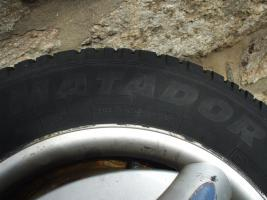 Foto 3 M&S Reifen auf Stahlfelge