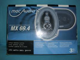 Mac Audio MX69,4 Weg Auto Lautsprecher car hifi 150watt