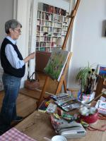 Foto 2 Malen+Zeichnen-Aquarell mit Senioren