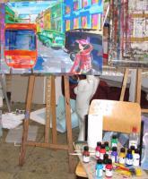 Foto 7 Mappenvorbereitung Malen, Zeichnen...