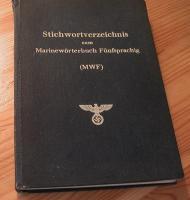 Marinewörterbücher des II. Weltkrieges