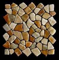 Mosaik Marmor Wand-Design