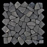 Mosaikfliesen Grau