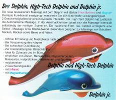 Foto 3 Massage Delphin mit Infrarotwärme