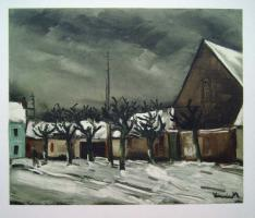 Maurice Vlaminck Lime Trees under Snow