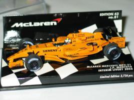 Foto 2 McLaren Mercedes MP4-21 J.P.Montoya Neu