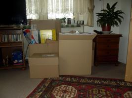 -Mehrere- kleine - Kartons / versch. Gr.  günstig - zu verkaufen